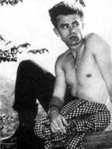 James_Dean_Shirtless