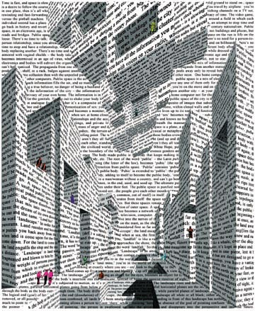 City_of_words_lithograph_by_vito_acconci_1999