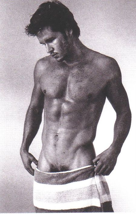 Ryan Kwanten low towel
