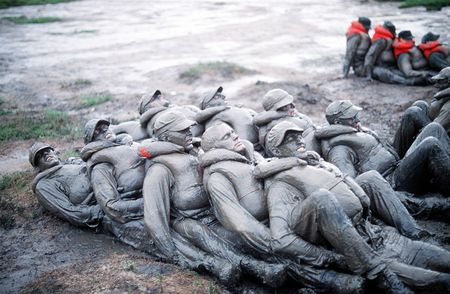Seals_trainees_mud