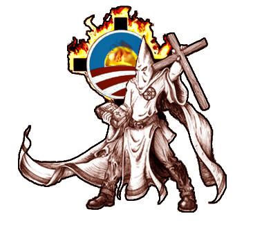 KKK_Obama_Cross