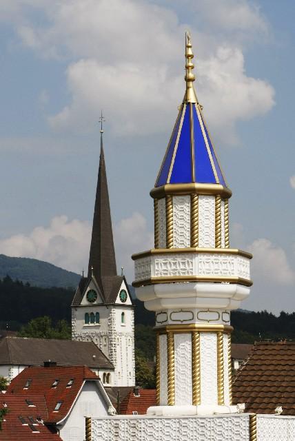 Steeple-minaret