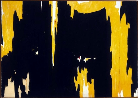 Painting by Clyfford Still